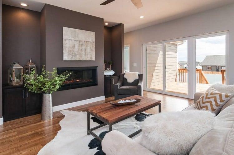 Trendige Farben für die Wohnzimmerwände u2013 25 Ideen - wohnzimmer farben fotos