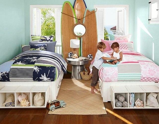 88 Kinderzimmer Einrichtungsideen mit Retro-Charme - babyzimmer madchen und junge