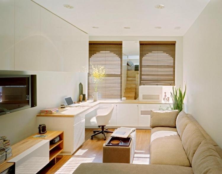 Ideen für das kleine Wohnzimmer u2013 30 inspirierende Bilder - esszimmer 17 qm zu klein