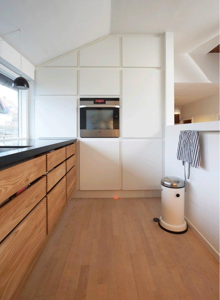 Weisse kueche holz modern design - haus.csat.co | {Küchenzeile modern holz 34}