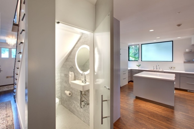 bad mit dachschrge gestalten. good badezimmer mit dachschrge ... - Ideen Bad Dachschrge