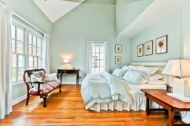 Wandfarben im Schlafzimmer u2013 105 Ideen für erholsame Nächte - schlafzimmer ideen in grun