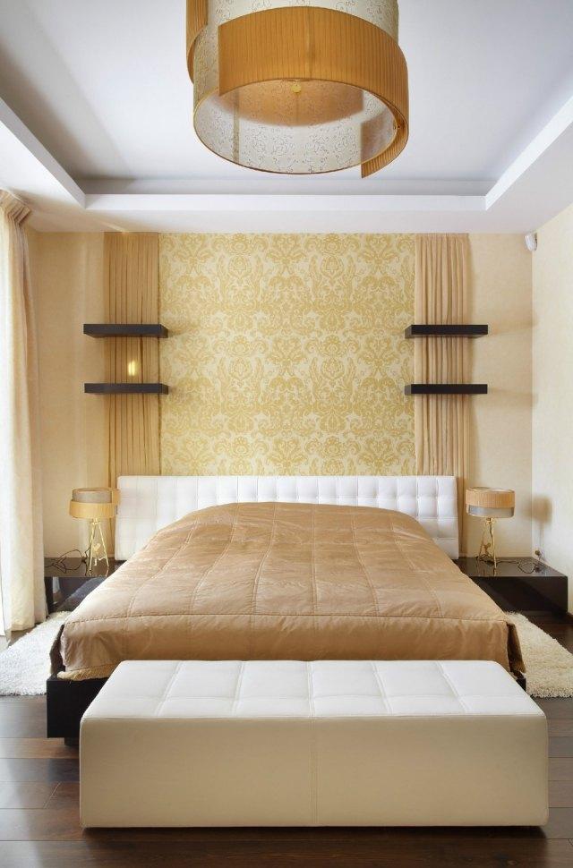 ... Schlafzimmer Dekorieren   55 Ideen Für Wandgestaltung ...