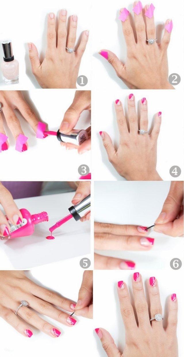 Einfache Nageldesigns Nail Art Inspiration 1 Fashionladyloves