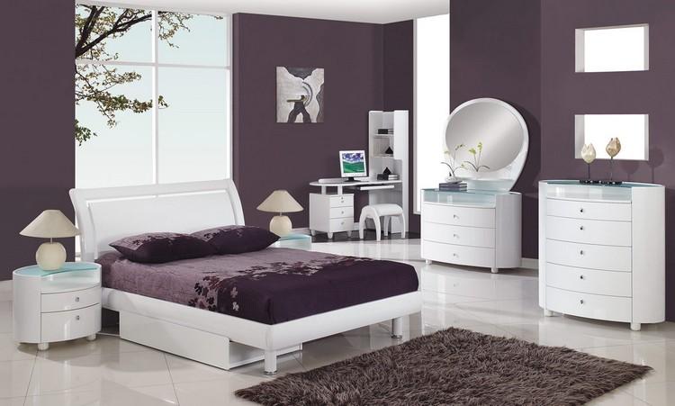 ... Wandfarbe Zu Weißen Möbeln Niedlich Auf Andere Mit Schlafzimmer   Schlafzimmer  Wandgestaltung Mit Weisen Mobeln ...
