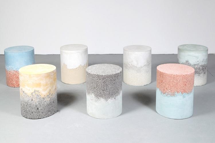Innovative Designer Möbel aus Salz von Amma - designer mobel salz amma