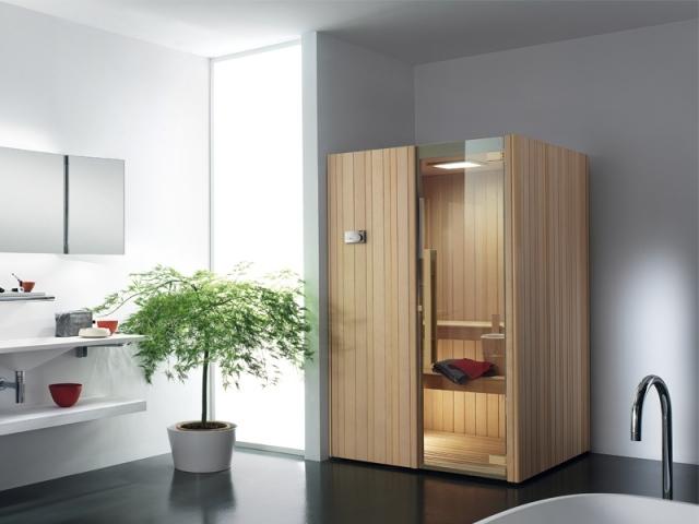 Sauna im Badezimmer - Ein Wellness-Universum zu Hause - badezimmer mit sauna