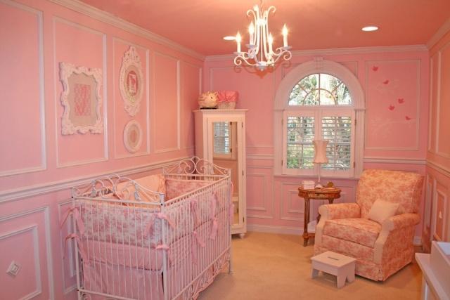 Babyzimmer wandgestaltung farben  babyzimmer gestalten: 70 ideen für geschlechtsneutrale deko. ▷ 34 ...