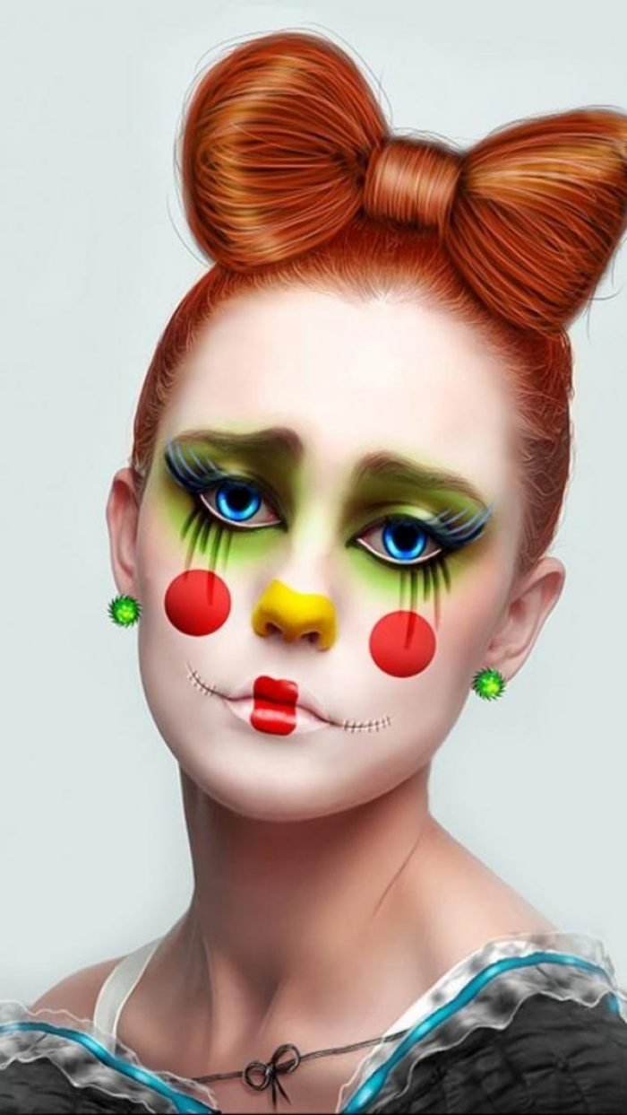 Clown Schminken Leicht Try These Clown Schminken Einfach Dream Gallery