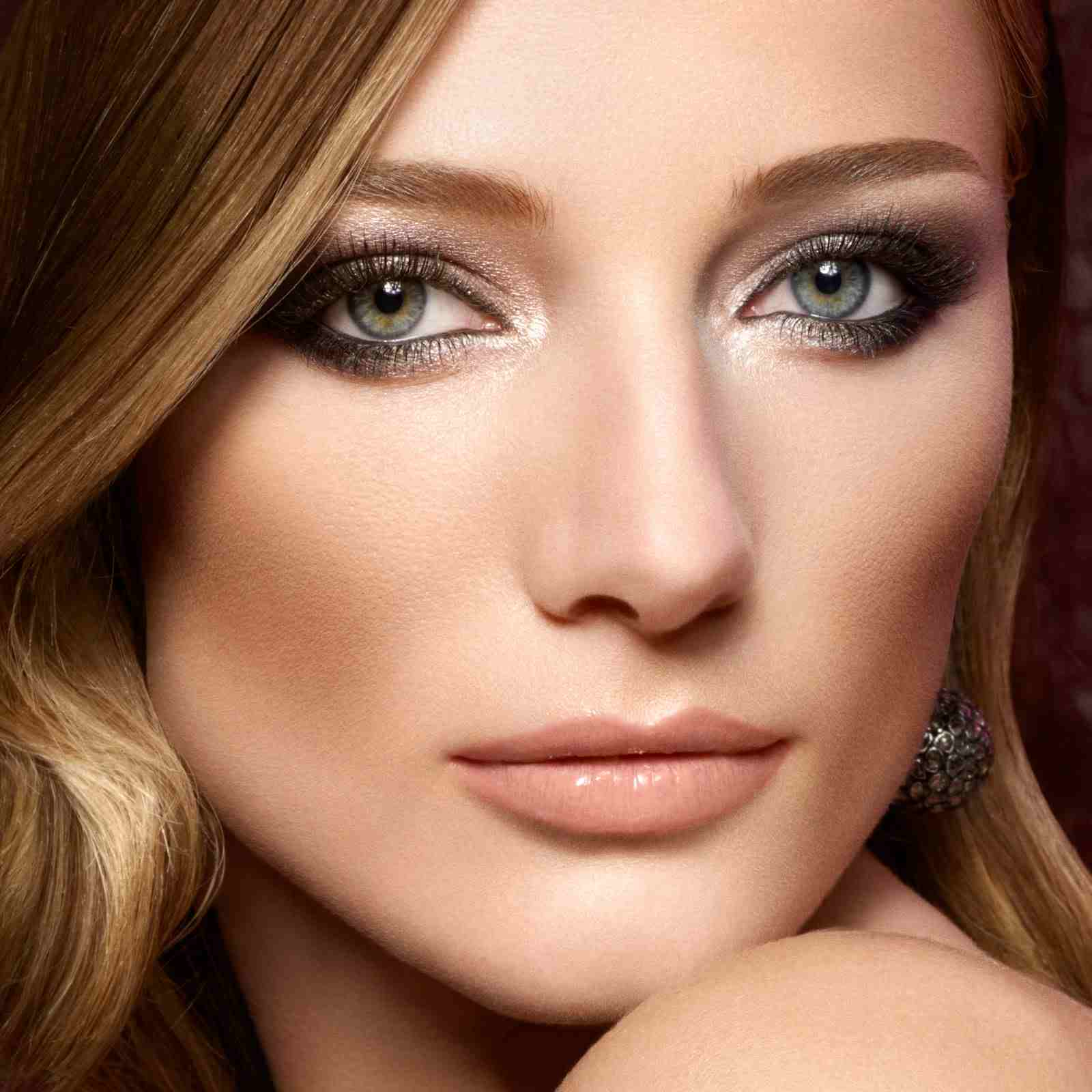 Smokey Eye Mit Goldschimmer Ein Effektvolles Make Up - Braut Make Up Grüne Augen