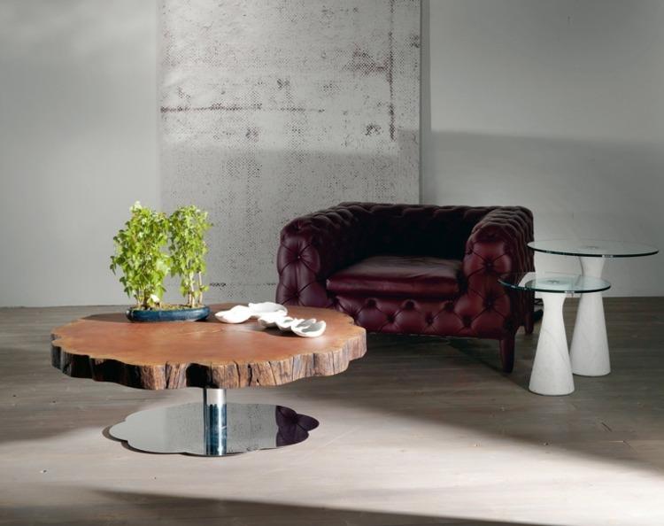 Stunning Designer Mobel Baumstammen Pictures - House Design Ideas - designer stuehle metall baumstamm