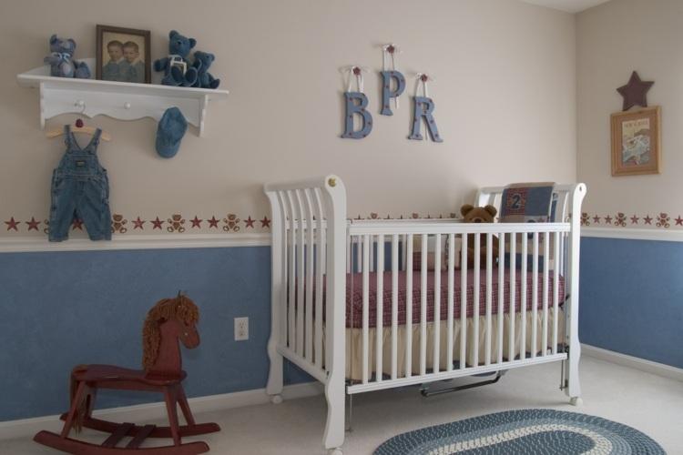Babyzimmer gestalten u2013 30 süße Kinderzimmer für Jungen