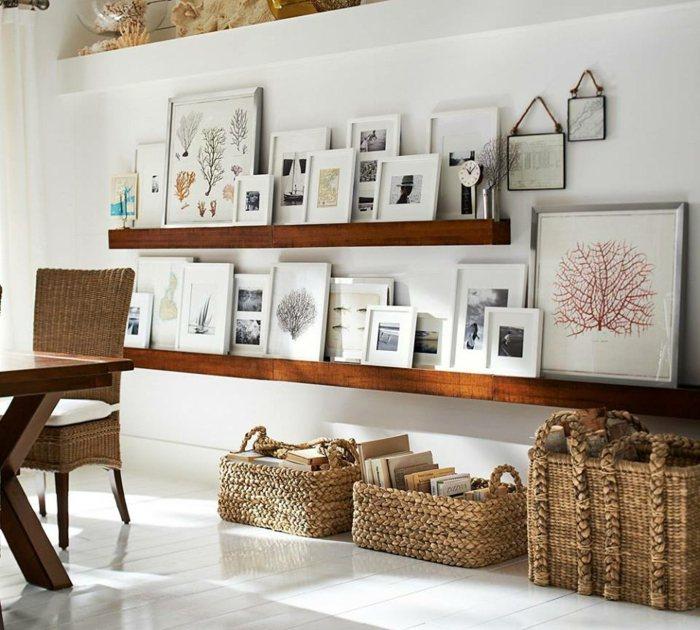 Wohnzimmer Deko Ideen - maritime Accessoires - wohnzimmer deko ideen
