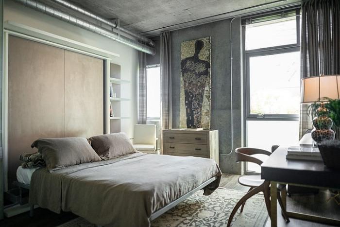 Best Schlafzimmer Bad Hinter Glas Loft Wohnung Photos - Home ...