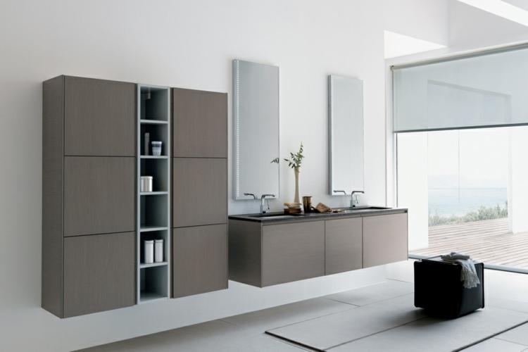 Badezimmerschrank Aus Holz U2013 Das Allroundtalent Im Bad    Badezimmerschrank