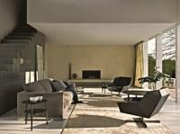 Designer Sessel als Blickfang im Wohnzimmer  Wohnideen