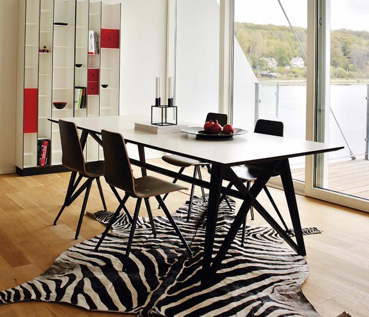 Esstisch und Stühle kombinieren u2013 29 Esszimmer Möbel Sets - mobel furs esszimmer essgruppe gestalten