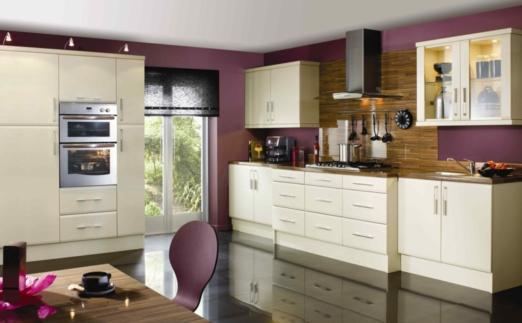 Taupe Kitchen Cabinets And Wall Color Veterinariancolleges
