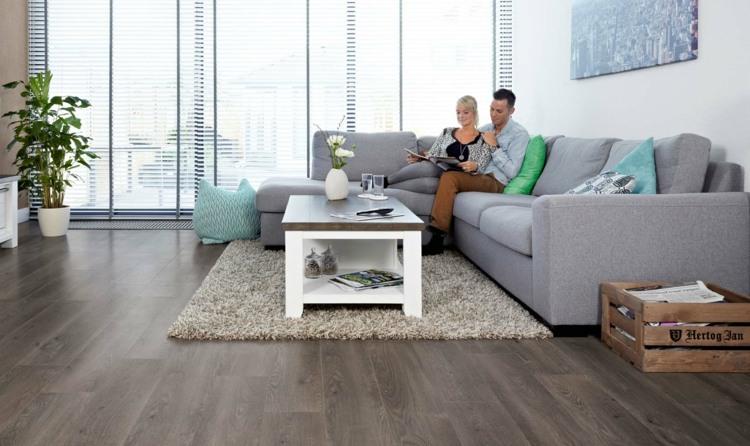 Laminatboden verlegen u2013 die günstige Alternative - laminatboden verlegen