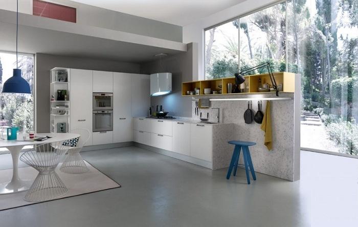 Modernes Küchensystem Verbindet Funktion Und Ästhetik   Modernes  Kuchensystem Italienisch