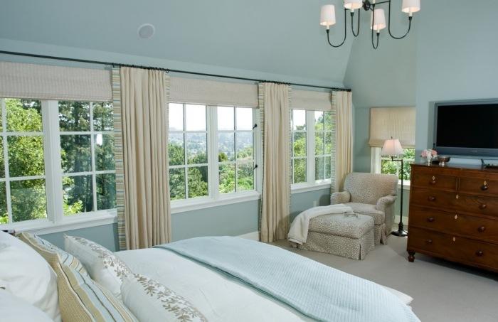 Schlafzimmer Farben Ideen für mehr Weite und Offenheit - wande farben ideen
