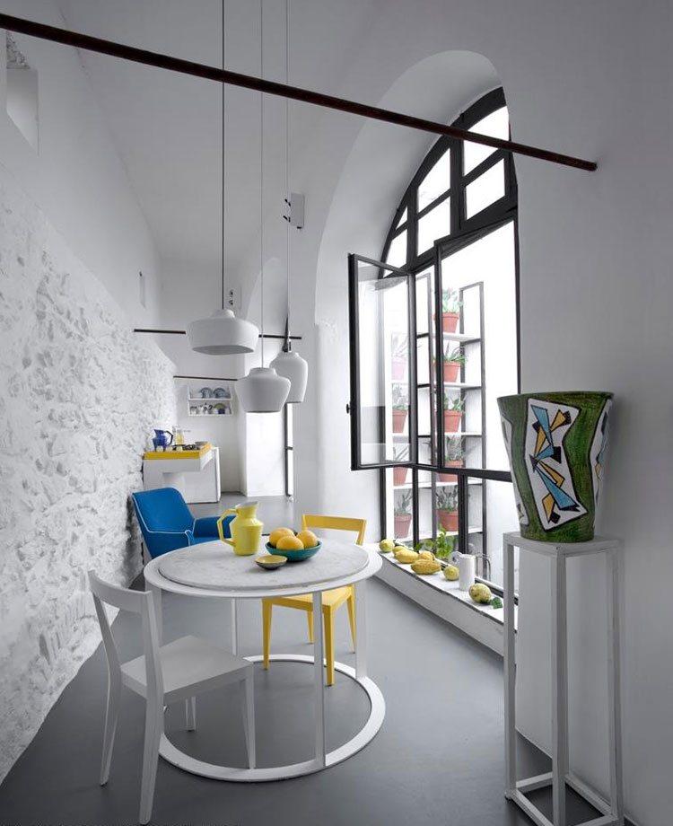Ein Runder Esstisch Ist Die Perfekte Lösung Bei Platzmangel   Esstisch Rund  Losung Platzmangel