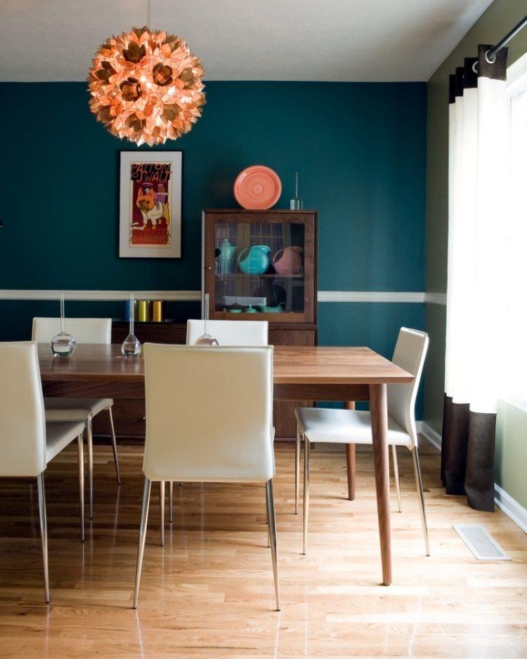 Wandgestaltung Im Esszimmer 25 Originelle Designs \ Ideen   Esszimmer 2014