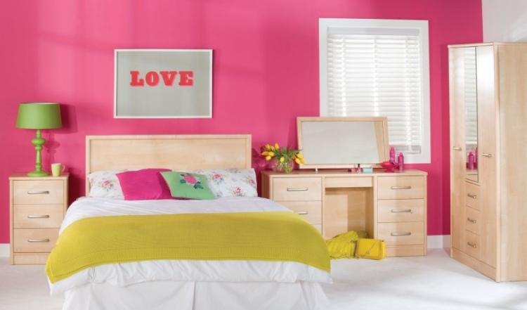 30 Farbideen fürs Schlafzimmer - Wände kreativ gestalten - schlafzimmer gestalten wandfarbe