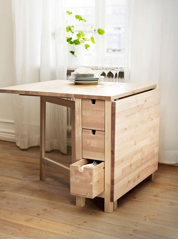 Ikea Esstisch - 20 Beispiele in bester, schwedischer Qualität - ikea esstisch beispiele skandinavisch