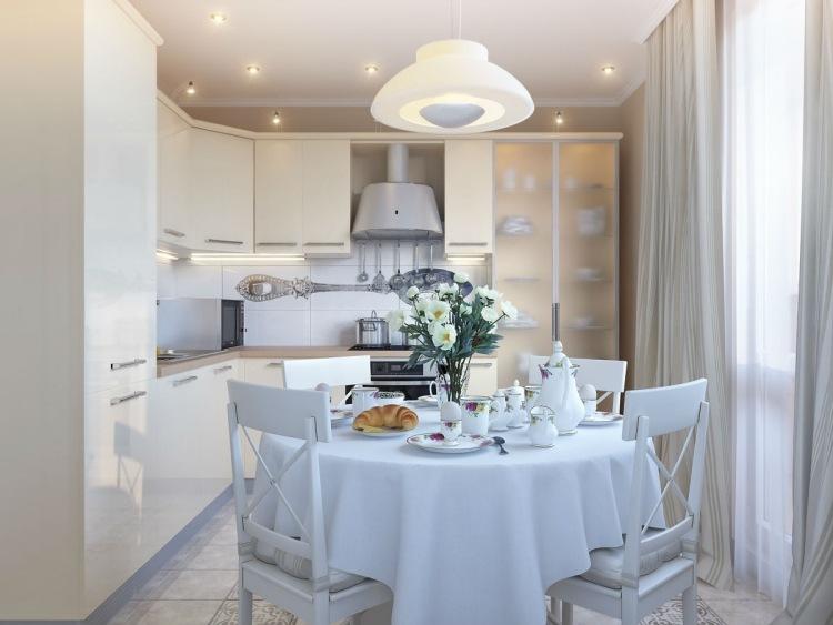 Arctar Tisch Kleine Küche #44   Esstisch Rund Losung Platzmangel