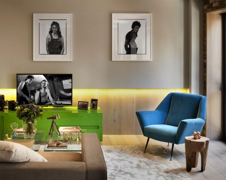 LED Beleuchtung im Wohnzimmer - 30 Ideen zur Planung - beleuchtung wohnzimmer ideen
