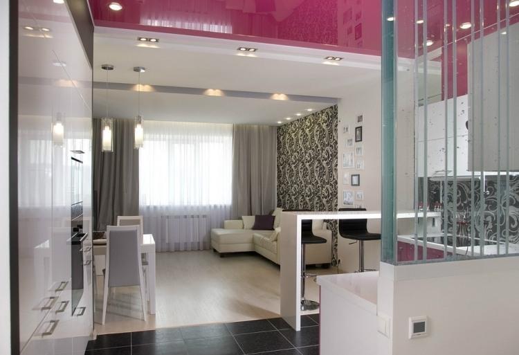 30 Wohnzimmerwände Ideen Streichen und modern gestalten - wande tapezieren ideen