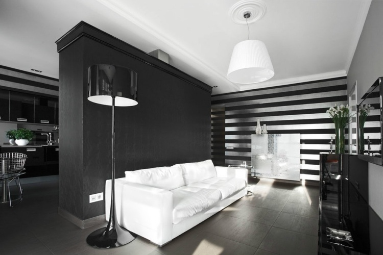 30 Wohnzimmerwände Ideen Streichen und modern gestalten - wohnzimmer silber streichen