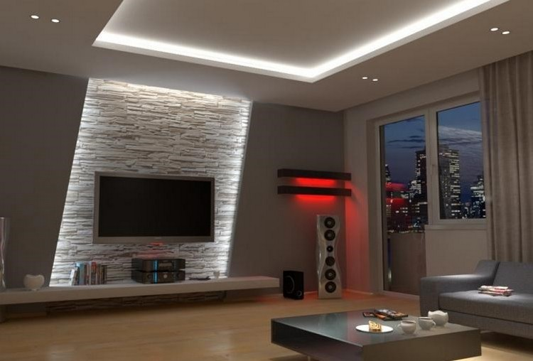 30 Wohnzimmerwände Ideen Streichen und modern gestalten - wandgestaltung wohnzimmer beispiele