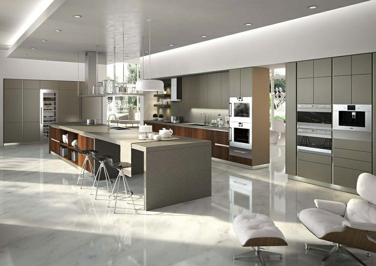 Moderne Kuche Spotlicht 35 Gestaltungsideen villawebinfo - moderne modulare kuche komfort