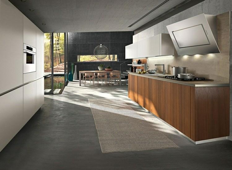 Moderne modulare Küche vereinigt Komfort und Ästhetik - moderne modulare kuche komfort