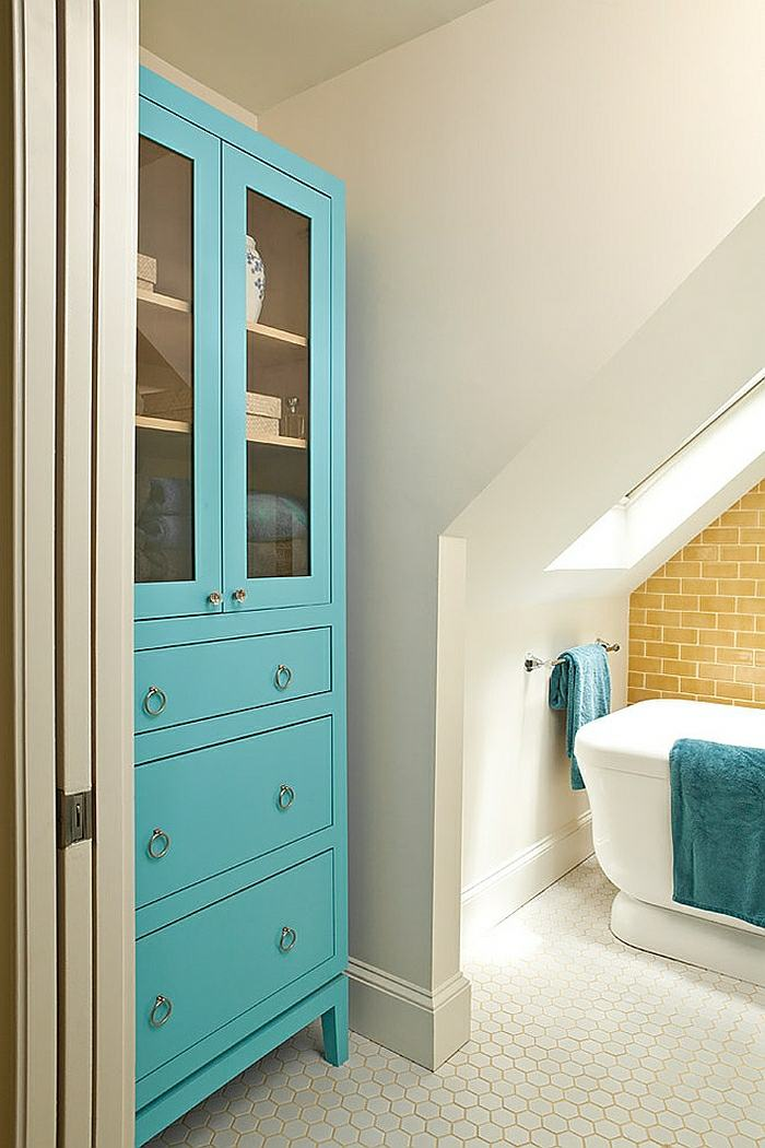 10 best images about Bad on Pinterest Ikea hacks, Spa baths and - blau fr dachschrage