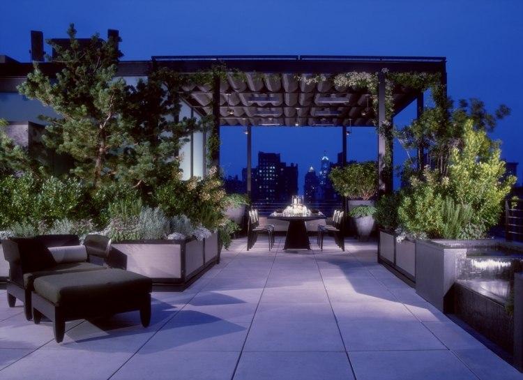 Dachterrasse Gestalten Umweltfreundliche Idee. dachterrasse ...