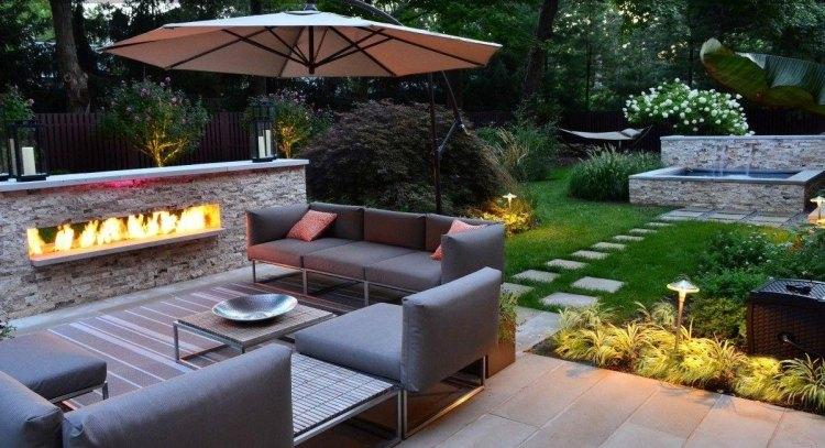 Tolle Ideen zum Terrasse gestalten in verschiedenen Stilen - ideen terrasse gestalten