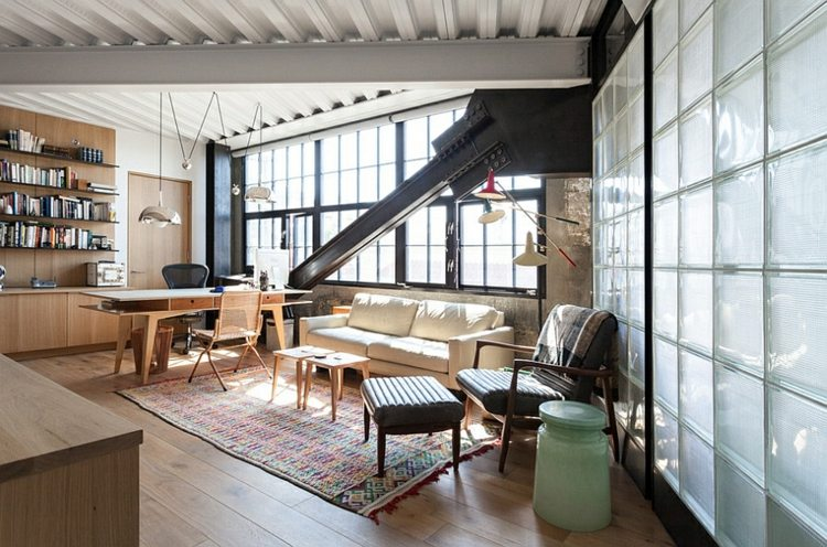 Home Office Im Industriellen Stil 15 Ideen Mit Modernem
