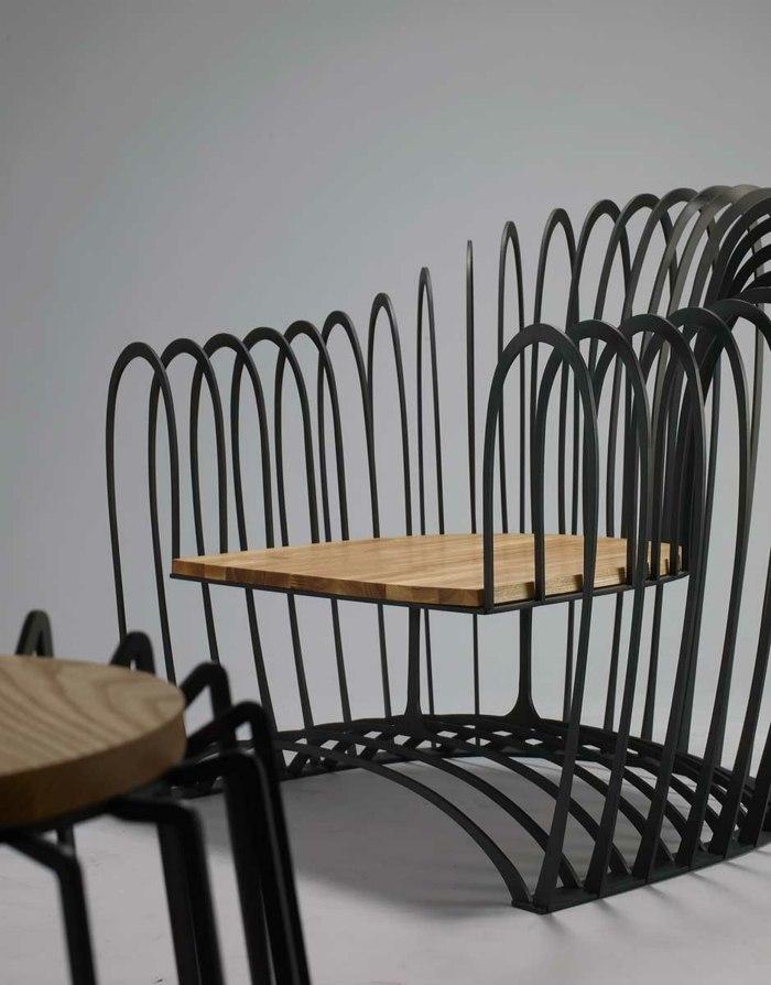 Ausgefallene Designer Schaukel Zum Aufhangen Lionel Doyen - ausgefallene mobel wie skizziert design jinil park