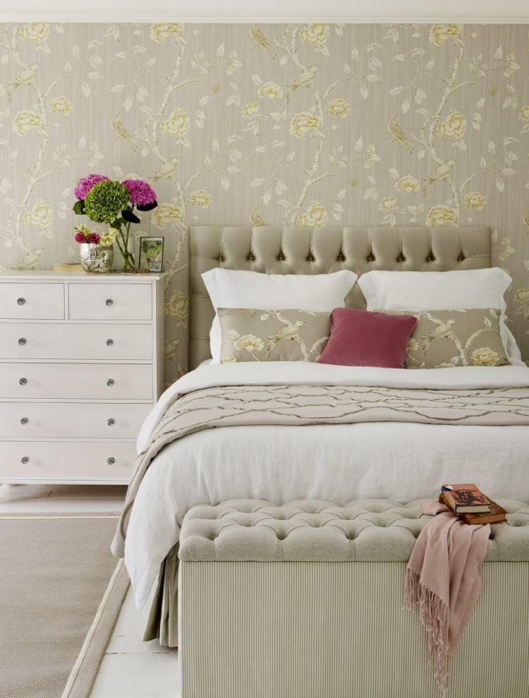 Wände streichen oder tapezieren? - Ideen und Tipps - wande tapezieren ideen