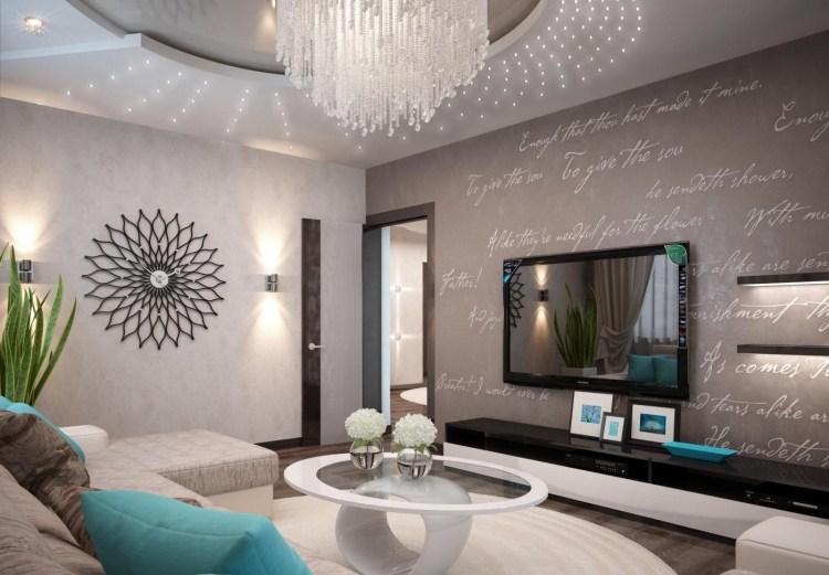 Wohnzimmer modern einrichten - Kalte oder warme Töne? - wohnzimmer bilder modern