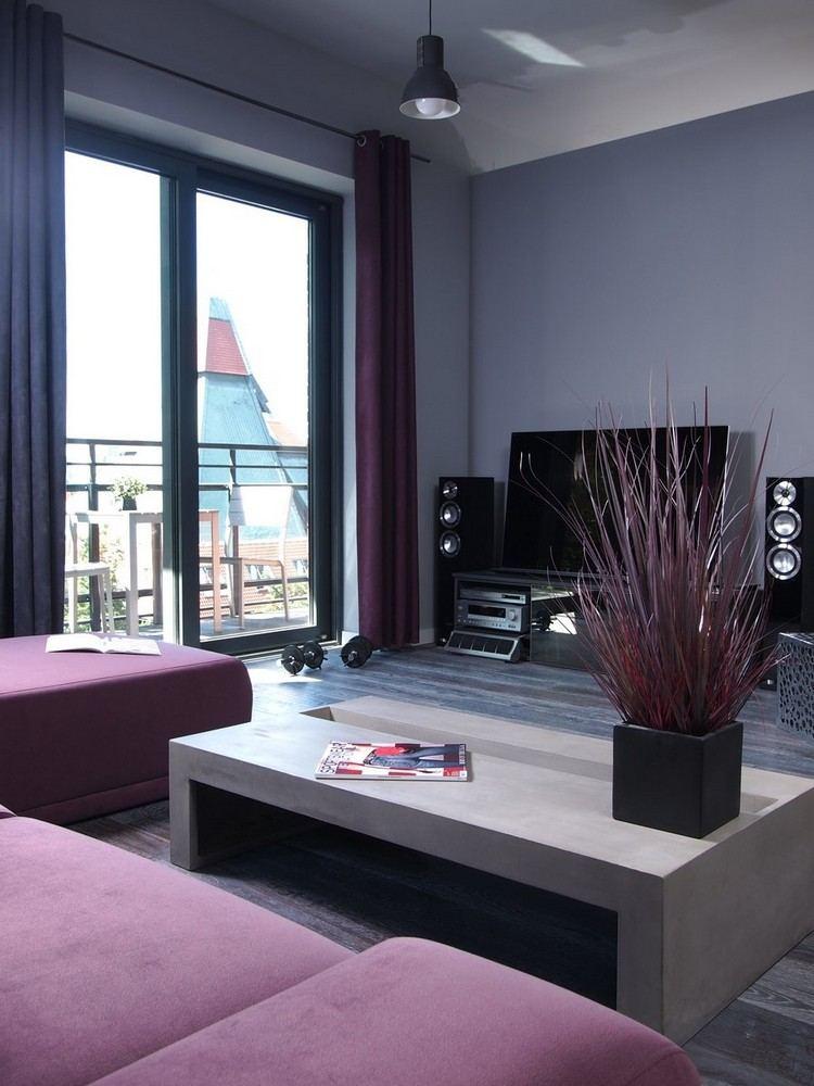 Wohnzimmer modern einrichten - Kalte oder warme Töne? - wohnzimmer farben fotos