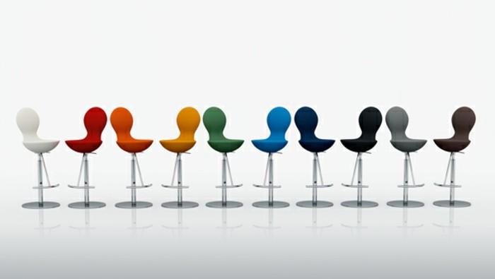 Barstuhl Design - 25 Ideen aus verschiedenen Materialien - barhocker mit lehne 15 beispiele