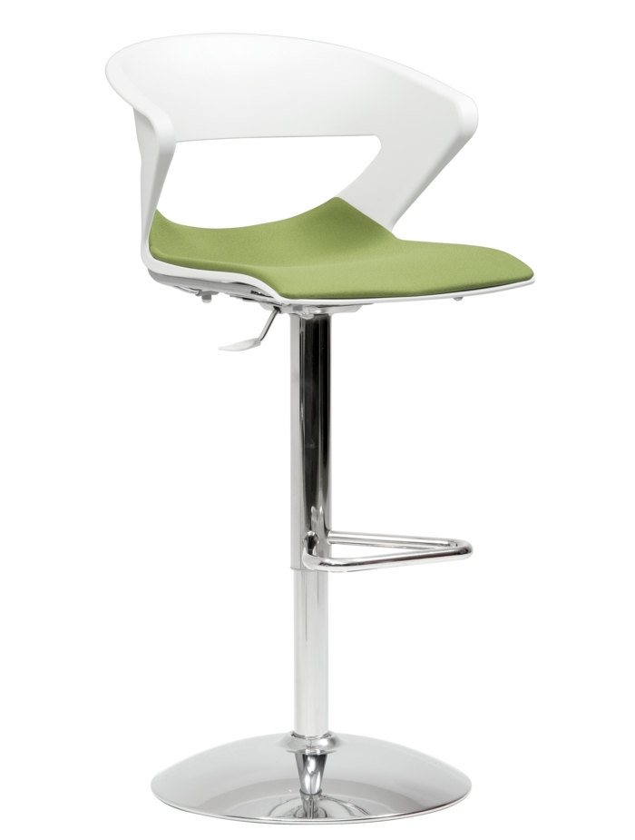 die besten 25+ white leather bar stools ideen auf pinterest ...
