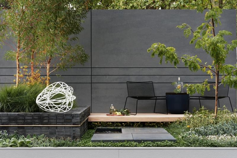 Gartendeko Ideen 55 Gartenskulpturen Und Blumentopfe