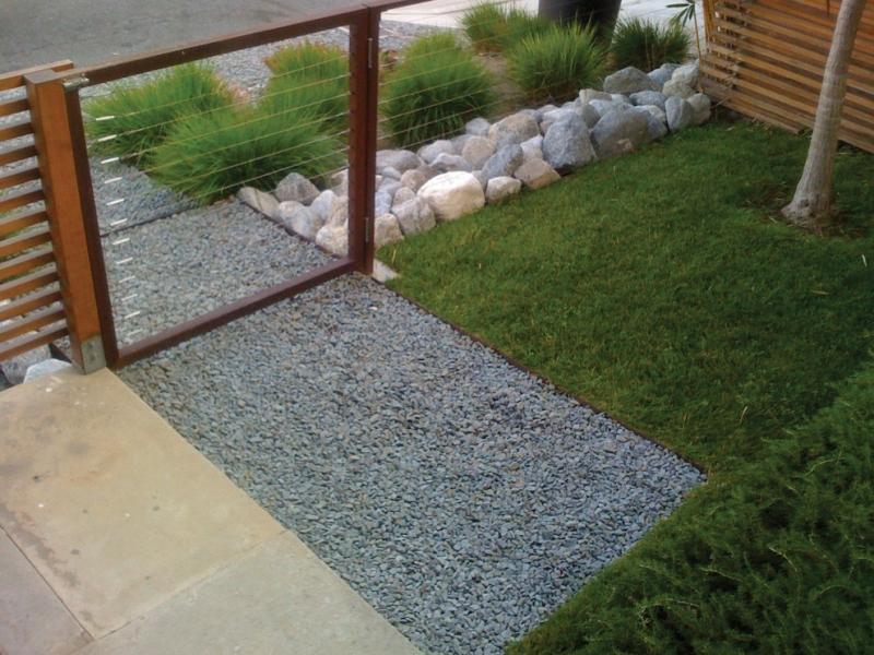 gartengestaltung mit kies ideen mit naturstein und grsern garten mit grasern und kies - Gartengestaltung Mit Kies Bilder