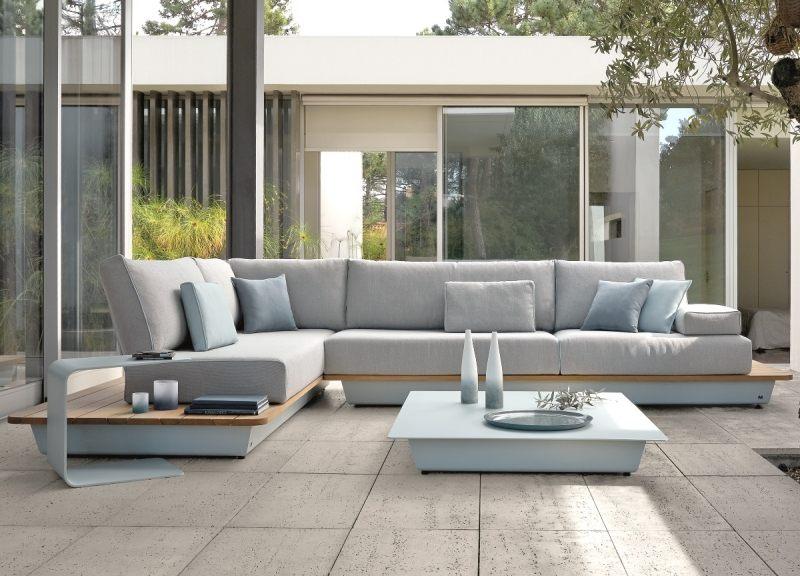 Großartig Lounge Gartenmobel Terrasse Bilder U2013 Edgetagsinfo   Holzerne Rustikale  Sofa Riva Italien