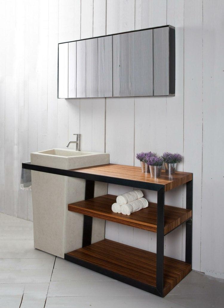 Bad Konsole und Waschbecken von Alessandro Lasferza - badezimmer konsole